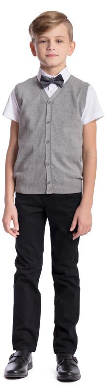 Галстук-бабочка для мальчика Scool, цвет: серый 373701. Размер универсальный373701Аккуратный галстук-бабочка Scool прекрасно подойдет для официальных и праздничных мероприятий. Он подчеркнет индивидуальность ребенка. Модель на регулируемом ремешке изготовлена из полиэстера.