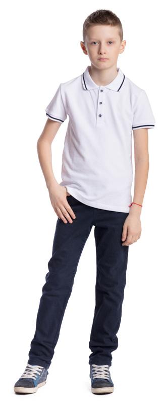 Поло для мальчика Scool, цвет: белый. 373446. Размер 158, 13 лет373446Поло для мальчика Scool изготовлено из натурального хлопка. Лекало этой модели полностью повторяет лекало модели футболки-поло для взрослого мужчины. Свободный крой не сковывает движения ребенка. Модель с отложным воротником и короткими рукавами застегивается на пуговицы. Воротник и мягкие резинки на рукавах выполнены в технике Yarn Dyed - в процессе производства в полотне используются нити разного цвета. При рекомендуемом уходе футболка не линяет и надолго остается в первоначальном виде.