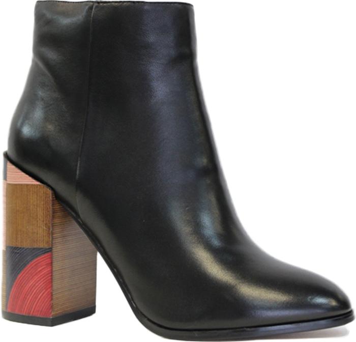 Ботильоны Graciana, цвет: черный. A739-0401-1B. Размер 37A739-0401-1BЖенские ботильоны Graciana на устойчивом оригинальном каблуке выполнены из натуральной кожи. Стелька и внутренний материал выполнены из натуральной кожи.