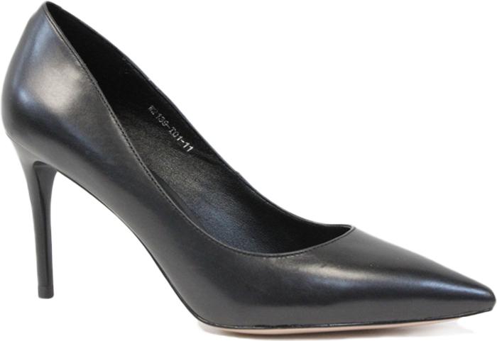 Туфли женские Graciana, цвет: черный. W2139-T01-11. Размер 40W2139-T01-11Женские туфли от Graciana на шпильке выполнены из натуральной кожи. Мысок заостренной формы придает модели изящности. Подкладка, изготовленная из натуральной кожи, обладает хорошей влаговпитываемостью и естественной воздухопроницаемостью. Стелька из натуральной кожи гарантирует комфорт и удобство стопам. Подошва из резины обеспечивает хорошую амортизацию и сцепление с любой поверхностью. Модные туфли помогут создать эффектный и незабываемый образ.