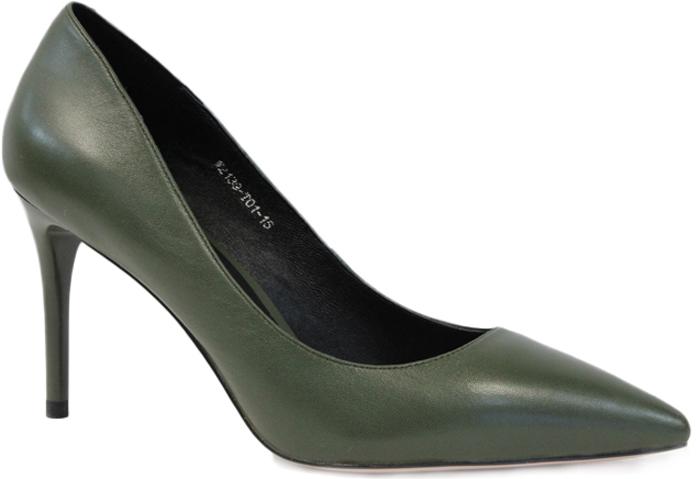 Туфли женские Graciana, цвет: серо-зеленый. W2139-T01-15. Размер 40W2139-T01-15Женские туфли от Graciana на шпильке выполнены из натуральной кожи. Мысок заостренной формы придает модели изящности. Подкладка, изготовленная из натуральной кожи, обладает хорошей влаговпитываемостью и естественной воздухопроницаемостью. Стелька из натуральной кожи гарантирует комфорт и удобство стопам. Подошва из резины обеспечивает хорошую амортизацию и сцепление с любой поверхностью. Модные туфли помогут создать эффектный и незабываемый образ.