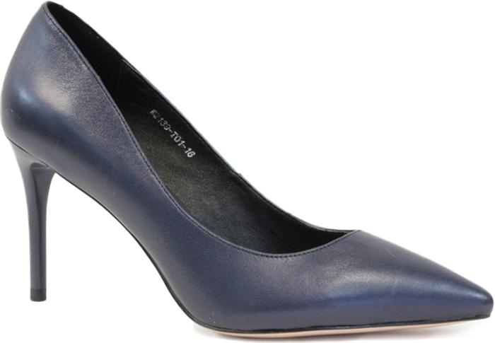 Туфли женские Graciana, цвет: синий. W2139-T01-16. Размер 40W2139-T01-16Женские туфли от Graciana на шпильке выполнены из натуральной кожи. Мысок заостренной формы придает модели изящности. Подкладка, изготовленная из натуральной кожи, обладает хорошей влаговпитываемостью и естественной воздухопроницаемостью. Стелька из натуральной кожи гарантирует комфорт и удобство стопам. Подошва из резины обеспечивает хорошую амортизацию и сцепление с любой поверхностью. Модные туфли помогут создать эффектный и незабываемый образ.