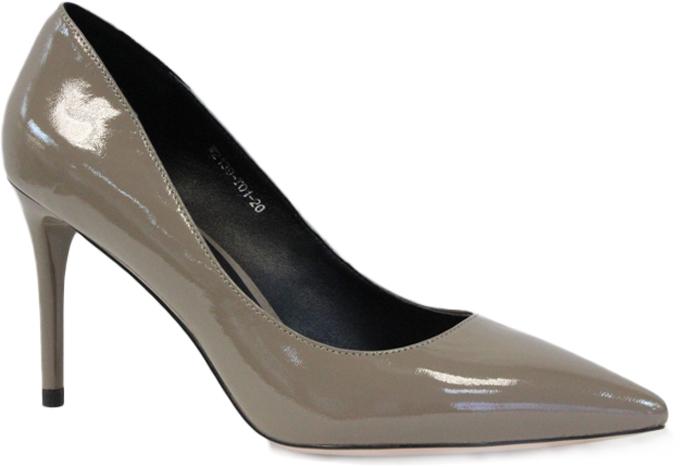 Туфли женские Graciana, цвет: серо-бежевый. W2139-T01-20. Размер 37W2139-T01-20Женские туфли от Graciana на шпильке выполнены из натуральной лаковой кожи. Мысок заостренной формы придает модели изящности. Подкладка, изготовленная из натуральной кожи, обладает хорошей влаговпитываемостью и естественной воздухопроницаемостью. Стелька из натуральной кожи гарантирует комфорт и удобство стопам. Подошва из резины обеспечивает хорошую амортизацию и сцепление с любой поверхностью. Модные туфли помогут создать эффектный и незабываемый образ.