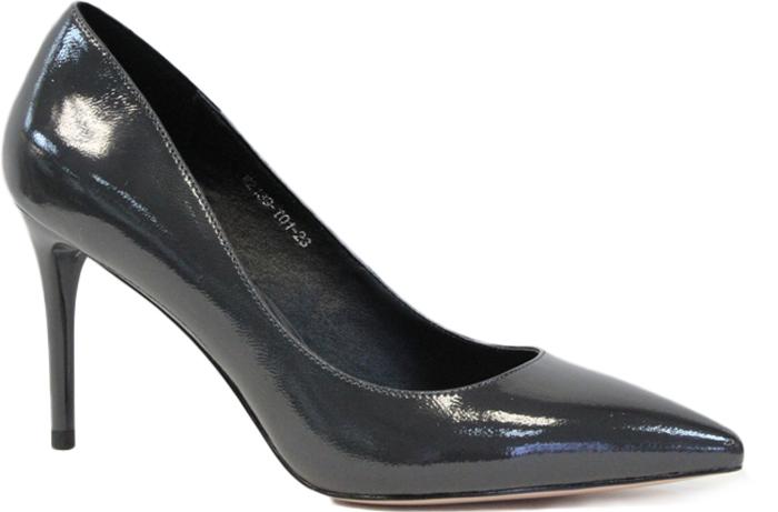 Туфли женские Graciana, цвет: серый. W2139-T01-23. Размер 39W2139-T01-23Женские туфли от Graciana на шпильке выполнены из натуральной лаковой кожи. Мысок заостренной формы придает модели изящности. Подкладка, изготовленная из натуральной кожи, обладает хорошей влаговпитываемостью и естественной воздухопроницаемостью. Стелька из натуральной кожи гарантирует комфорт и удобство стопам. Подошва из резины обеспечивает хорошую амортизацию и сцепление с любой поверхностью. Модные туфли помогут создать эффектный и незабываемый образ.