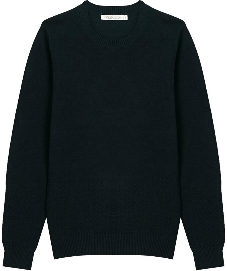 Джемпер для мальчика Vitacci, цвет: темно-синий. 1173004-04. Размер 1521173004-04Джемпер школьный для мальчика выполнен из натурального хлопка. Модель с круглым вырезом горловины и длинными рукавами.