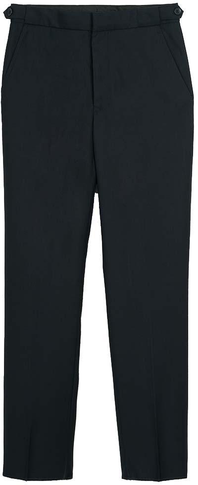 Брюки для мальчика Vitacci, цвет: темно-синий. 1173032М-04. Размер 1641173032М-04Классическая школьные брюки выполнены из качественного материала. Модель застегивается на комбинированную застежку.