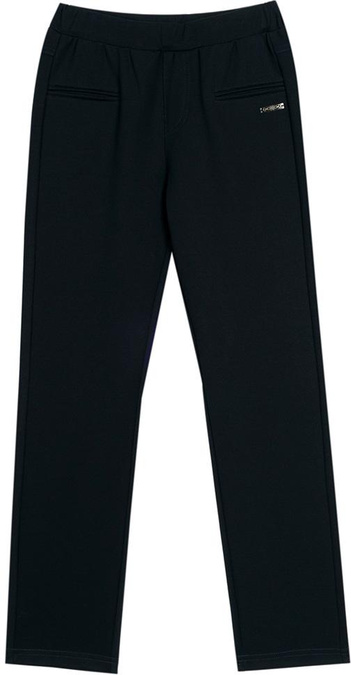 Брюки для девочки Vitacci, цвет: черный. 2173120L-03. Размер 1582173120L-03Классические школьные брюки для девочки выполнены из качественного материала. Просторная модель оригинального кроя на широком поясе.