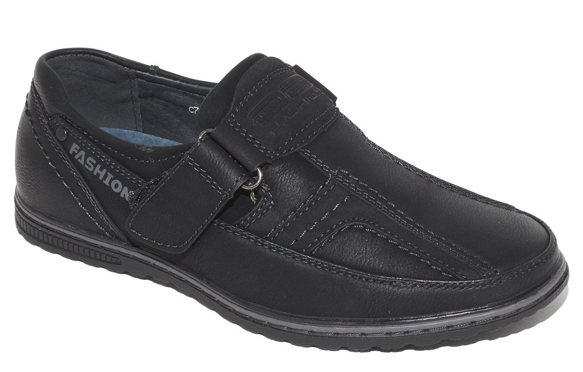 Полуботинки для мальчика Капитошка, цвет: черный. C7111. Размер 33C7111Стильные полуботинки от Капитошка займут достойное место среди коллекции обуви вашего мальчика. Модель, выполненная из искусственной кожи, оформлена прострочкой и фирменной нашивкой. Ремешок с застежкой-липучкой надежно зафиксирует обувь на ноге. Внутренняя поверхность и стелька из натуральной кожи, обеспечат ногам комфорт и уют. Подошва с рифлением обеспечивает отличное сцепление с любой поверхностью. Трендовые полуботинки придутся по душе вашему мальчику.