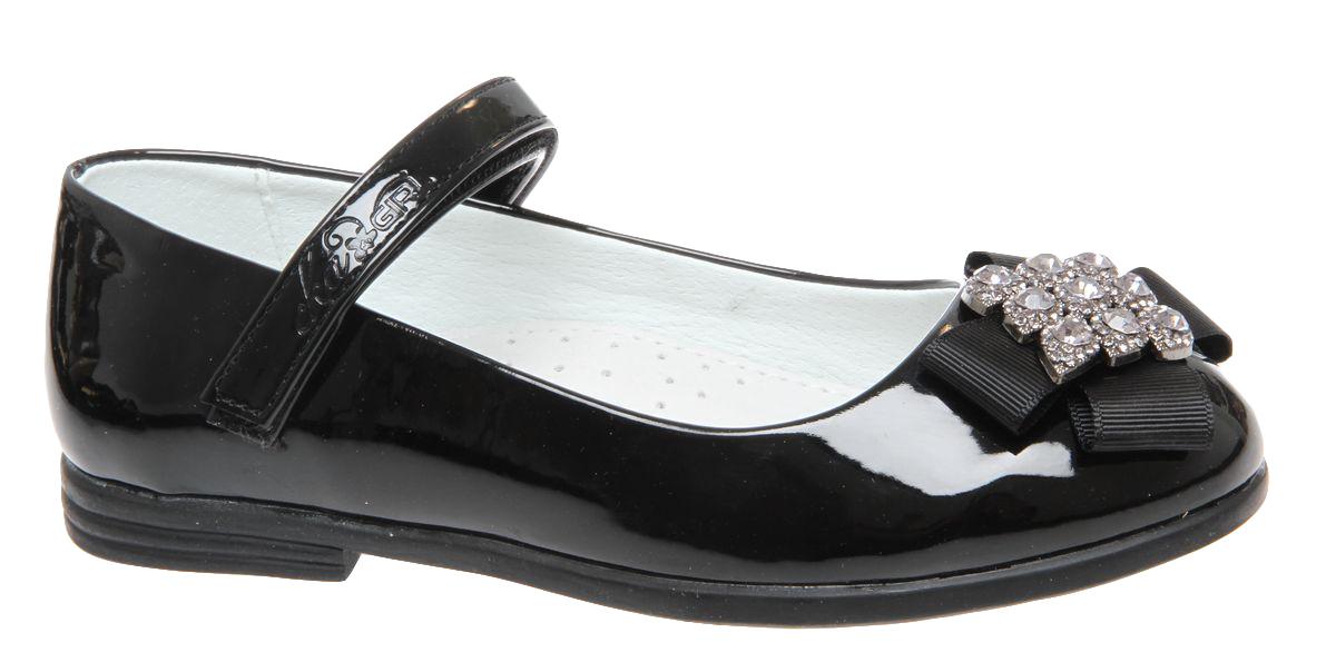 Туфли для девочки Сказка, цвет: черный. R209023202. Размер 31R209023202Прелестные туфли от бренда Сказка придутся по душе вашей юной моднице! Модель изготовлена из комбинации натуральной и искусственной кожи. Мыс туфель оформлен текстильным бантом со стильной фурнитурой. Ремешок с застежкой-липучкой отвечает за надежную фиксацию модели на ноге. Внутренняя поверхность из натуральной кожи не натирает. Стелька из материала ЭВА с поверхностью из натуральной кожи дополнена супинатором, который обеспечивает правильное положение ноги ребенка при ходьбе, предотвращает плоскостопие. Подошва с рифлением обеспечивает идеальное сцепление с любыми поверхностями. Стильные туфли - незаменимая вещь в гардеробе каждой девочки.
