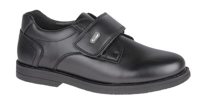 Полуботинки для мальчика Сказка, цвет: черный. R218223301. Размер 37,5R218223301место среди коллекции обуви вашего мальчика. Модель выполнена из натуральной и искусственной кожи и оформлена прострочкой. Подъем дополнен широким ремешком с липучкой, которая надежно зафиксирует обувь на ноге. Внутренняя поверхность и стелька, изготовленные из натуральной кожи, обеспечат ногам комфорт и уют. Подошва с рифлением гарантирует отличное сцепление с любой поверхностью. Трендовые полуботинки придутся по душе вашему мальчику.