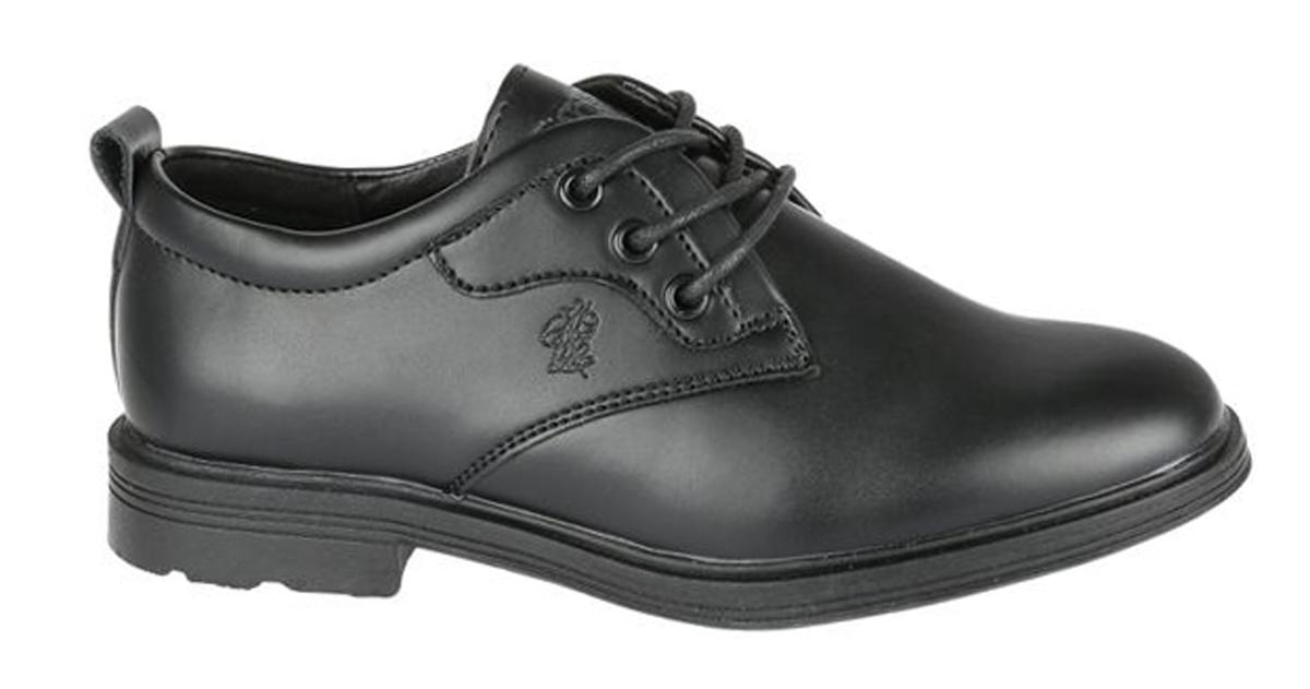 Туфли для мальчика Сказка, цвет: черный. R871623331. Размер 36R871623331Стильные туфли от бренда Сказка займут достойное место среди коллекции обуви вашего мальчика. Модель выполнена из натуральной и искусственной кожи и оформлена прострочкой. Подъем дополнен широким ремешком с липучкой, которая надежно зафиксирует обувь на ноге. Внутренняя поверхность и стелька, изготовленные из натуральной кожи, обеспечат ногам комфорт и уют. Подошва с рифлением гарантирует отличное сцепление с любой поверхностью. Модные туфли придутся по душе вашему мальчику.