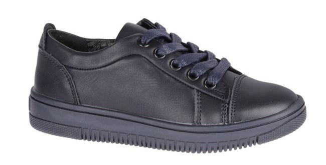 Полуботинки для мальчика Сказка, цвет: темно-синий. R875822835. Размер 27R875822835Стильные полуботинки от бренда Сказка займут достойное место среди коллекции обуви вашего мальчика. Модель выполнена из натуральной и искусственной кожи. Подъем оформлен шнуровкой, которая надежно зафиксирует обувь на ноге. Внутренняя поверхность и стелька, изготовленные из натуральной кожи, обеспечат ногам комфорт и уют. Подошва с рифлением гарантирует отличное сцепление с любой поверхностью. Трендовые полуботинки придутся по душе вашему мальчику.
