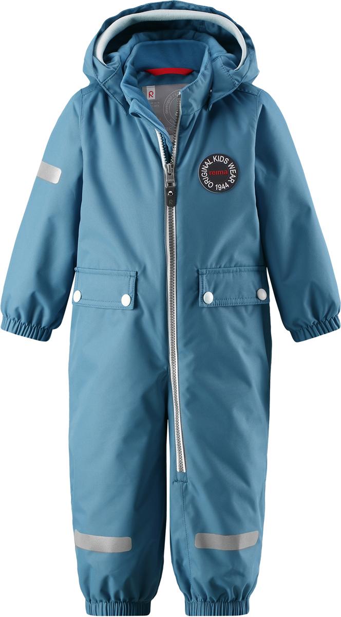 Комбинезон утепленный детский Reima Reimatec Fangan, цвет: синий. 5102636740. Размер 985102636740