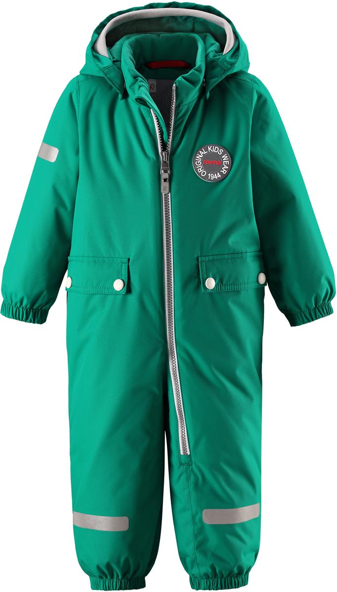 Комбинезон утепленный детский Reima Reimatec Maahinen, цвет: зеленый. 5102928860. Размер 805102928860