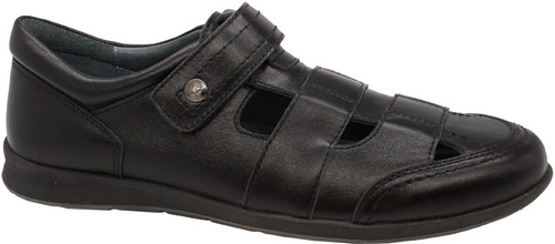 Полуботинки для мальчика Зебра, цвет: черный. 11808-1. Размер 3611808-1Стильные полуботинки для мальчика Зебра гарантируют здоровое и правильное развитие ног ребенка.Модель выполнена из натуральной кожи и оформлена перфорацией. Внутренняя отделка также выполнена из натуральной кожи. Удобная застежка-липучка быстро и надежно фиксирует обувь на ноге ребенка. Профилированная стелька, изготовленная из натуральной кожи, учитывает анатомические особенности строения детской стопы, обеспечивает им наилучшую защиту и профилактику от развития плоскостопия, гарантирует ногам ребенка ощущение комфорта и легкости при ходьбе, уменьшает усталость мышц и связок.Рифленая подошва полуботинок из легкого полимерного термопластичного материала обладает высокой прочностью, гибкостью, надежным сцеплением с различными покрытиями, не пачкает полы и оставляет следов и полос.