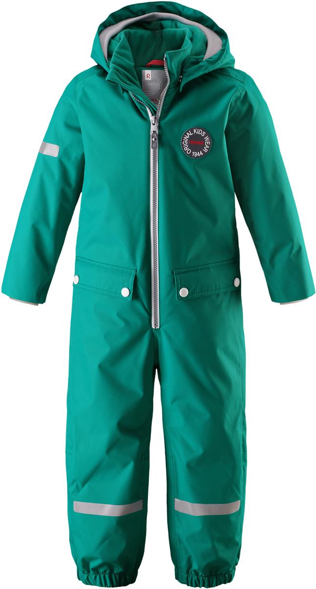 Комбинезон утепленный детский Reima Reimatec Vacalis, цвет: зеленый. 5202048860. Размер 1045202048860
