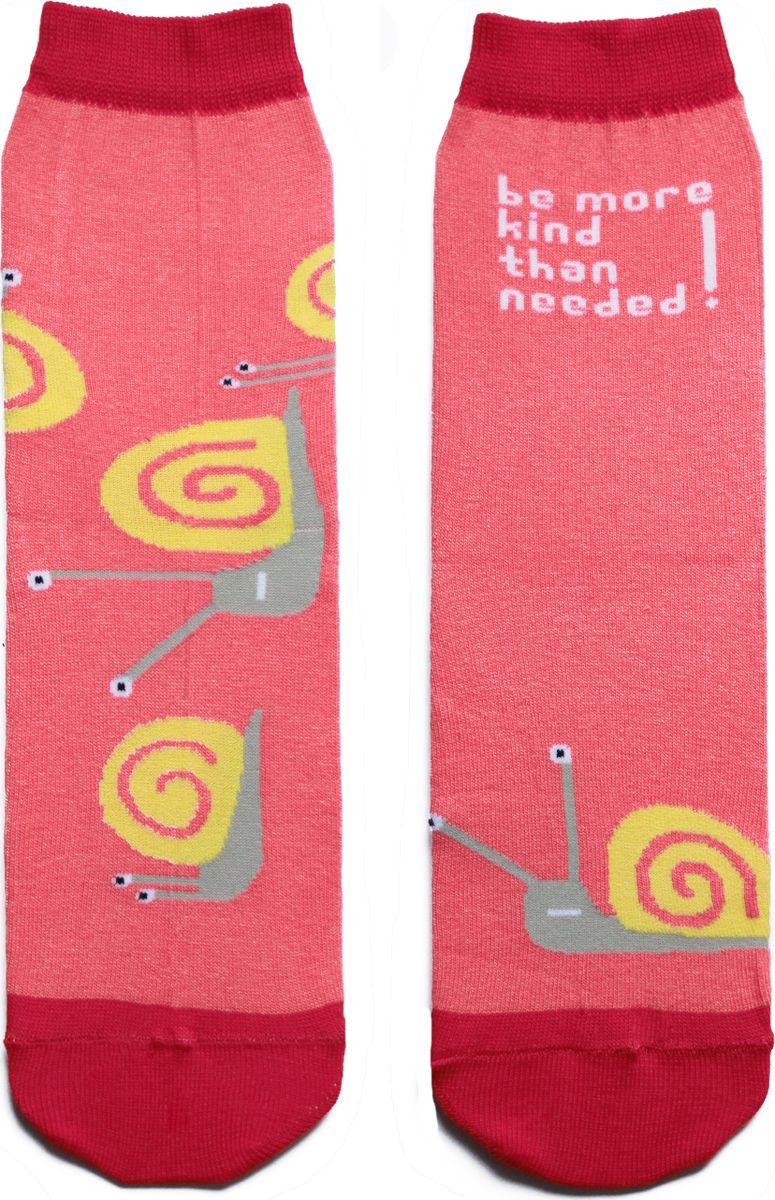 Носки детские Big Bang Socks, цвет: розовый. ca1611. Размер 30/34ca1611Носки Big Bang Socks изготовлены из натурального хлопка с добавлением полиамида для износоустойчивости и эластана.Мягкие высокие носочки оформлены весёлым принтом. Сверху имеется трикотажная резинка для фиксации на голени. Покупая носки Big Bang Socks вы помогаете подопечным фонда Старость в радость.