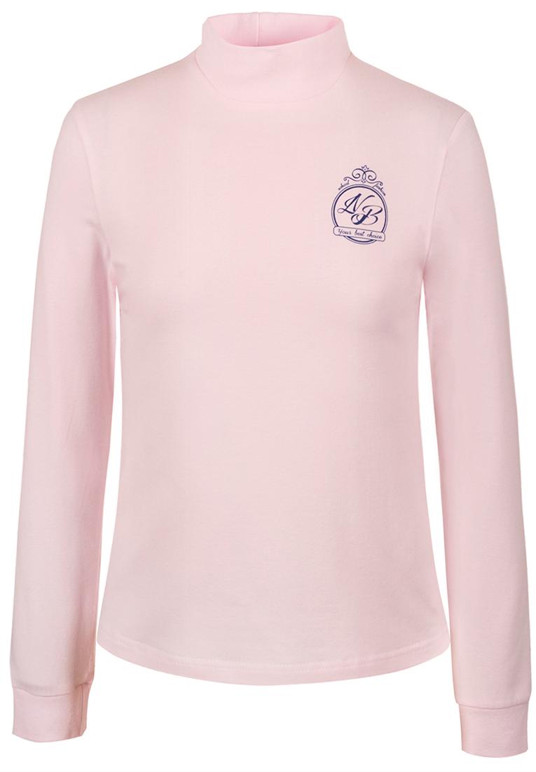 Водолазка для девочки Nota Bene, цвет: розовый. CJR27039A05. Размер 140CJR27039A05/CJR27039B05Водолазка для девочки Nota Bene выполнена из хлопкового трикотажа. Модель с длинными рукавами и воротником-стойкой на груди оформлена принтом.