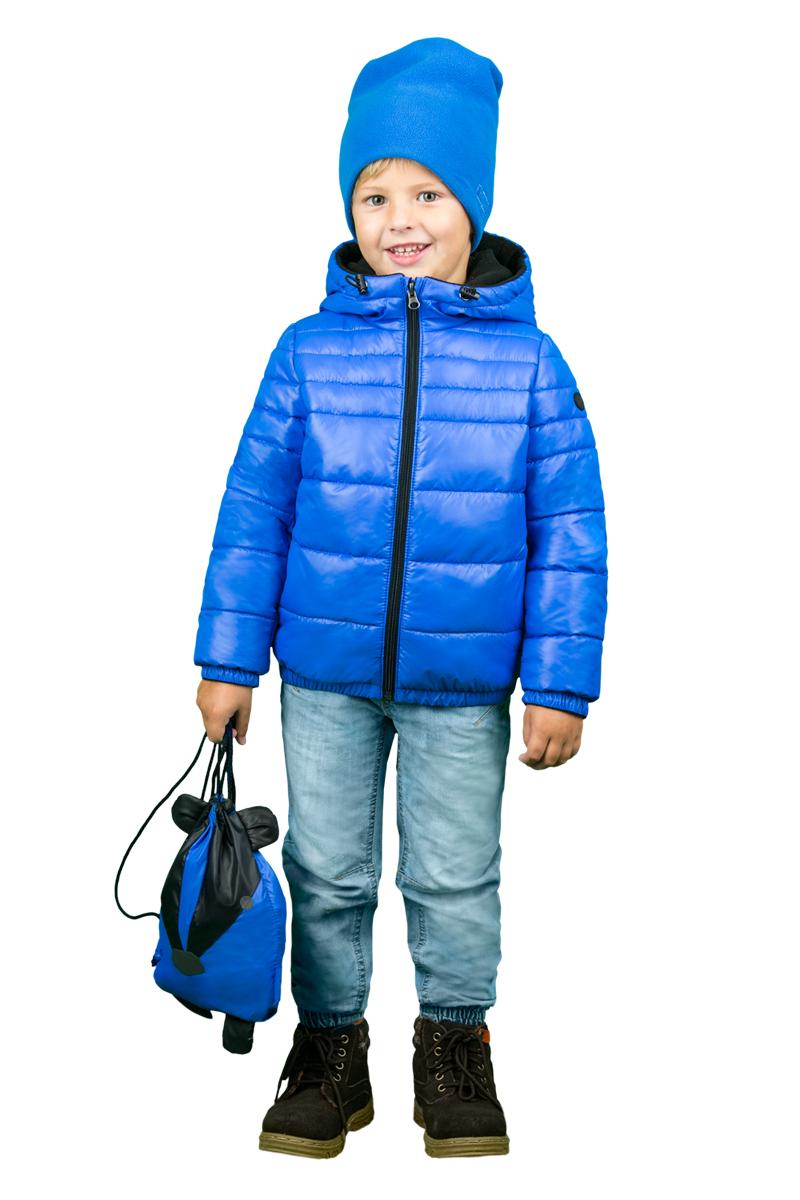 Куртка для мальчика Boom!, цвет: синий. 70468_BOU_вар.1. Размер 98, 3-4 года70468_BOU_вар.1Куртка для мальчика Boom! выполнена из полиэстера и дополнена мягкой и теплой подкладкой с добавлением флиса. Куртка застегивается на удобную застежку-молнию. Капюшон в объеме регулируется при помощи скрытого эластичного шнурка со стопперами. Рукава и низ изделия дополнены эластичной резинкой. По бокам куртка дополнена двумя кармашками.