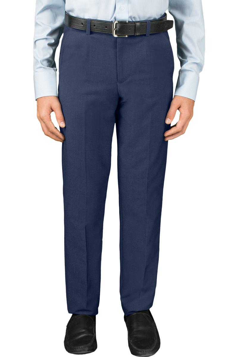 Брюки для мальчика Orby, цвет: синий. 70390_OLB_вар.2. Размер 164, 12-13 лет70390_OLB_вар.2Классические брюки Orby выполнены из качественного смесового материала. Брюки застегиваются на молнию и дополнены шлевками для ремня. Модель оформлена стрелками и врезными карманами спереди и сзади.
