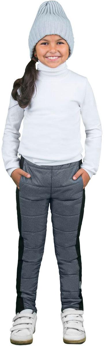 Брюки утепленные для девочек Boom!, цвет: серый. 70333_BOG_вар.3. Размер 98, 3-4 года70333_BOG_вар.3Утепленные брюки для девочки Boom! изготовлены из сверхпрочного материала. Брюки снабжены гладкой подкладкой из полиэстера на легком утеплителе, который согреет в холодные дни.
