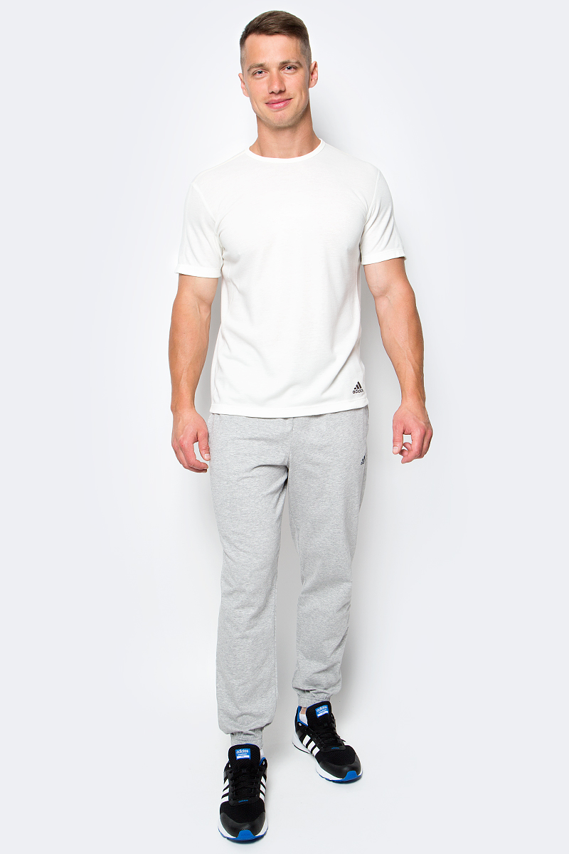 Футболка мужская Adidas AP SS Nondye, цвет: молочный. M31733. Размер L (48/50)M31733Стильная мужская футболка Adidas AP SS Nondye, выполненная из полиэстера с добавлением шерсти, обладает высокой теплопроводностью, воздухопроницаемостью и гигроскопичностью, позволяет коже дышать.Модель с короткими рукавами реглан и круглым вырезом горловины - идеальный вариант для создания образа в стиле Casual. Такая модель подарит вам комфорт в течение всего дня и послужит замечательным дополнением к вашему гардеробу.