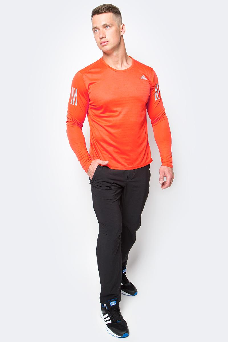 Брюки спортивные мужские adidas Liteflex Pants, цвет: черный. AZ2151. Размер 52AZ2151Брюки спортивные мужские adidas Liteflex Pants выполнены из полиамида с добавлением полиэстера и эластана. Модель имеет имеют водоотталкивающее покрытие.