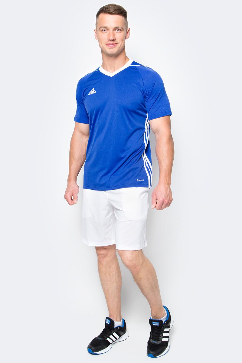 Шорты для тенниса мужские adidas Essex Short, цвет: белый. BJ8765. Размер M (48/50)BJ8765Шорты для тенниса мужские adidas Essex Short выполнены из полиэстера с добавлением эластана. Модель дополнена эластичным поясом.