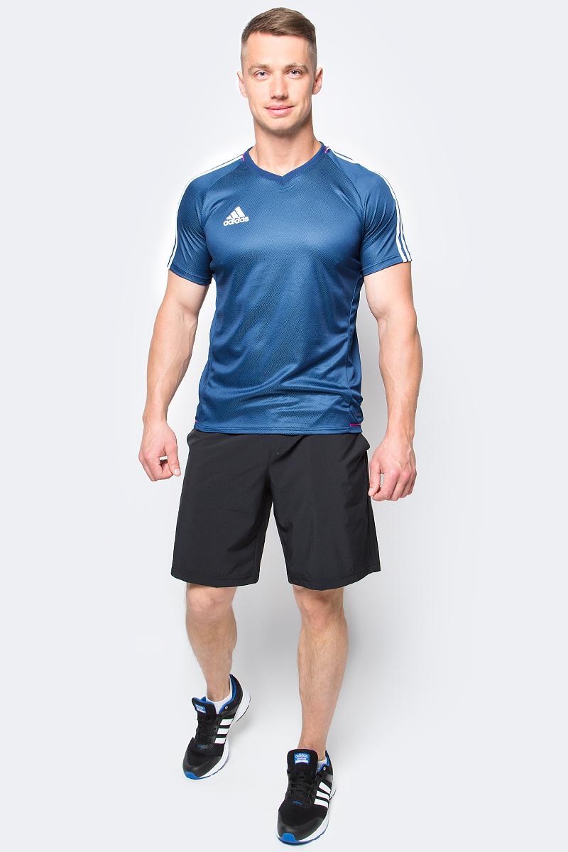 Шорты мужские adidas Essex Short, цвет: черный. B45800. Размер XL (56/58)B45800Шорты мужские adidas Essex Short выполнены из полиэстера с добавлением эластана. Прекрасно подходят для интенсивных тренировок.