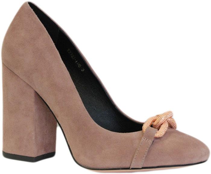 Туфли женские Graciana, цвет: бежевый. W2332-L08-3. Размер 37W2332-L08-3Женские туфли от Graciana на устойчивом каблуке выполнены из натуральной замши. Мысок заостренной формы украшен стильной фурнитурой. Подкладка, изготовленная из натуральной кожи, обладает хорошей влаговпитываемостью и естественной воздухопроницаемостью. Стелька из натуральной кожи гарантирует комфорт и удобство стопам. Подошва из резины обеспечивает хорошую амортизацию и сцепление с любой поверхностью. Модные туфли помогут создать эффектный и незабываемый образ.