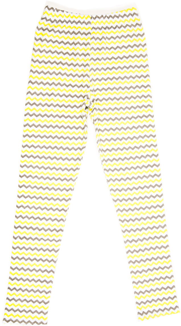 Леггинсы для девочки LeadGen, цвет: желтый. G620050915-171. Размер 140G620050915-171Леггинсы для девочки LeadGen выполнены из хлопкового трикотажа. Модель на талии дополнена эластичной резинкой.