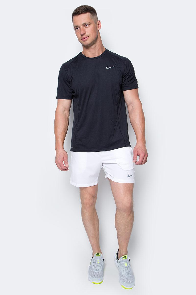 Шорты мужские Nike Court 7, цвет: белый. 645043-102. Размер M (46/48)645043-102Мужские шорты Court 7 от Nike выполнены из эластичной ткани Dri-FIT и оснащены сетчатой подкладкой для комфорта. Эластичный пояс на талии для идеальной посадки.