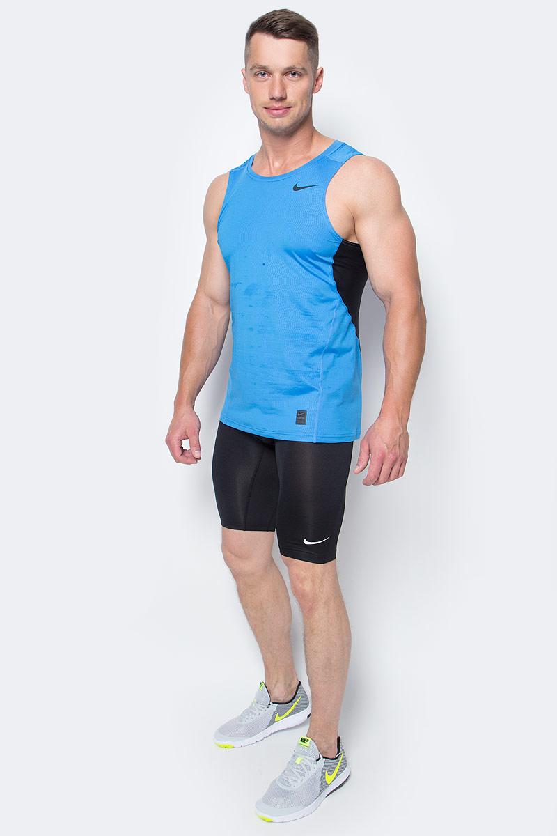 Шорты мужские Nike Cool Comp 9, цвет: черный. 703086-010. Размер L (50/52)703086-010Мужские шорты Cool Comp 9 от Nike выполнены из влаговыводящей ткани Dri Fit. Прилегающий крой и эластичная резинка на талии обеспечат комфорт.