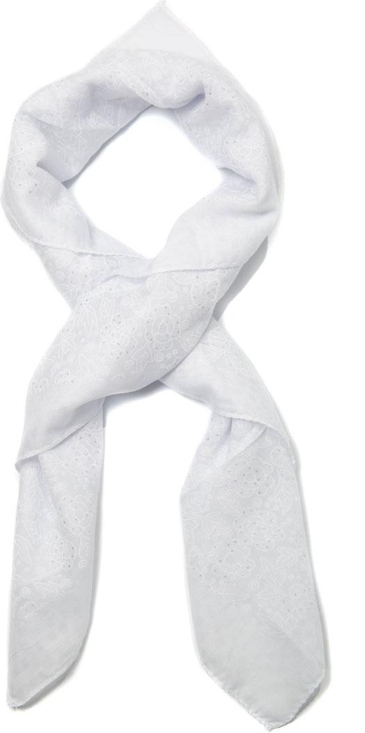 Платок женский Mitya Veselkov, цвет: белый. PLATOK2-WHITE. Размер универсальныйPLATOK2-WHITEЖенский платок — аксессуар, с помощью которого легко создать элегантный запоминающийся образ! Особенности модели: нежная на ощупь текстура; тонкость и удивительная лёгкость; изящный дизайн.