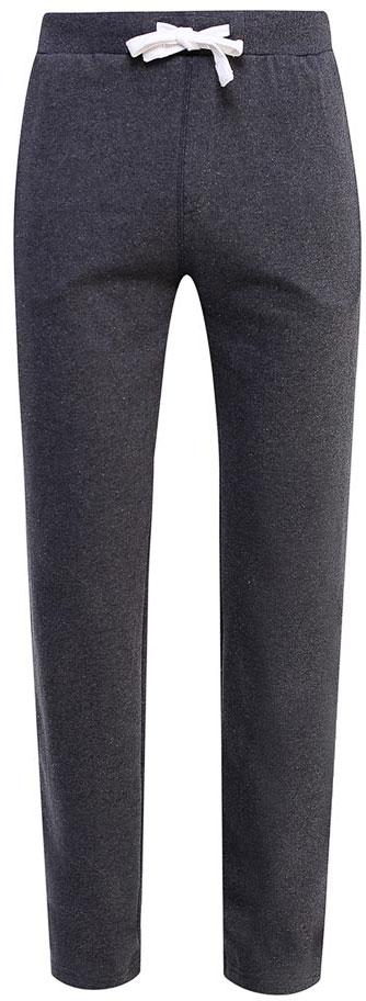 Брюки спортивные мужские Sela, цвет: темно-серый меланж. Pk-215/055-7340. Размер S (46)Pk-215/055-7340Удобные спортивные брюки для мужчин Sela выполнены из качественного хлопкового материала и дополнены двумя прорезными карманами. Брюки прямого кроя и стандартной посадки на талии имеют широкий пояс на мягкой резинке, дополнительно регулируемый шнурком. Мягкая ткань на основе хлопка и полиэстера приятна на ощупь и комфортна в носке.