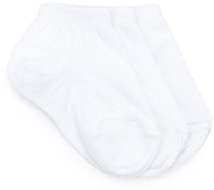 Носки для мальчика Sela, цвет: белый, 3 пары. SOb-7854/063-7412-3set. Размер 16/18SOb-7854/063-7412-3setКомплект Sela состоит из трех пар укороченных носков для мальчика, изготовленных из высококачественного приятного на ощупь материала. Благодаря содержанию мягкого хлопка в составе, кожа сможет дышать, а эластан позволяет носкам легко тянуться, что делает их комфортными в носке. Мягкая эластичная резинка плотно облегает ногу, не сдавливая ее, и обеспечивает комфорт и удобство. Уважаемые клиенты! Размер, доступный для заказа, является длиной стопы.