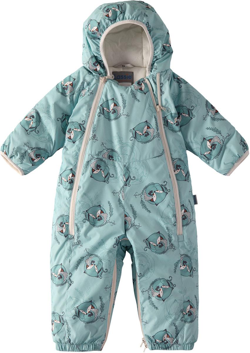 Комбинезон утепленный детский Lassie, цвет: синий. 7107128771. Размер 627107128771100% Полиэстер