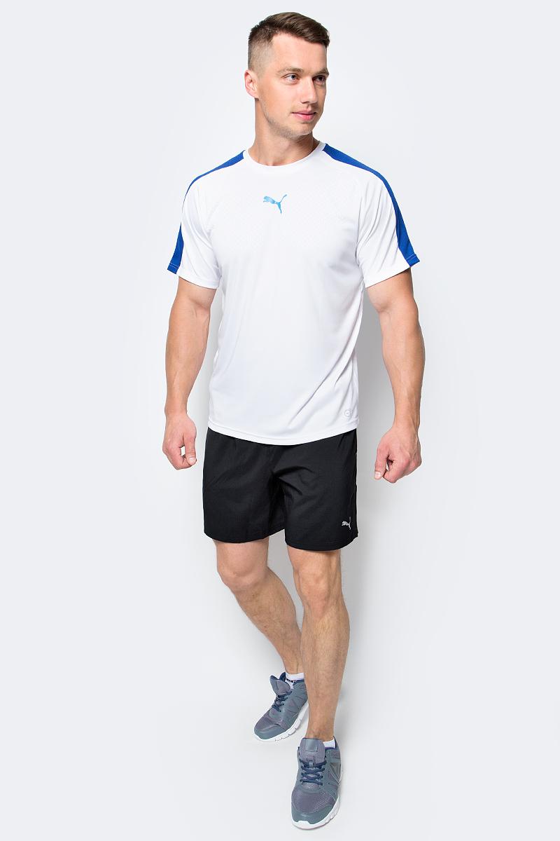 Шорты для бега мужские Puma Core-Run 7 Shorts, цвет: черный. 51501301. Размер M (46/48)51501301Шорты Core-Run 7 Shorts изготовлены с использованием высокофункциональной технологии dryCELL, которая отводит влагу, поддерживает тело сухим и гарантирует комфорт во время активных тренировок и занятий спортом. Они снабжены вместительным внутренним карманом с брелоком для ключей. Логотип и другие декоративные элементы из светоотражающего материала позаботятся о вашей безопасности в темное время суток. Вшитые трусы создают дополнительное удобство. Вставки из сетчатого материала обеспечивают отличную вентиляцию.