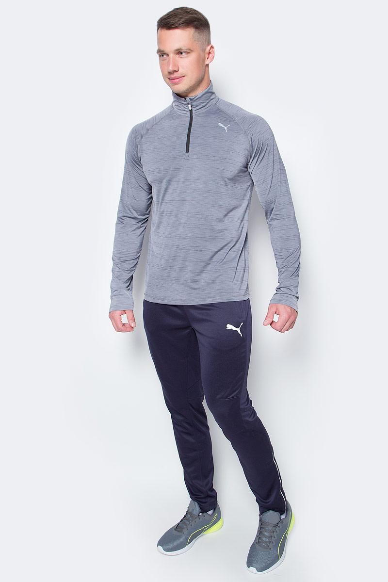 Брюки спортивные мужские Puma Training Pant, цвет: темно-синий. 653824061. Размер XL (50/52)653824061Спортивные брюки Puma Training Pant подходят как для прогулок, так и для занятий спортом. Изготовлены с использованием высокофункциональной технологии dryCELL, которая отводит влагу, поддерживает тело сухим и гарантирует комфорт. Декорированы набивным рисунком c прорезиненными деталями. Имеются боковые карманы. Изделие имеет стандартную посадку.