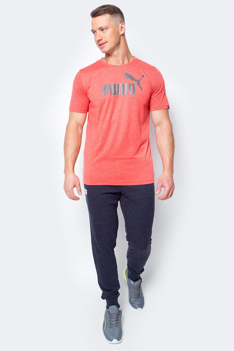Брюки спортивные мужские Puma RBR Sweat Pants, цвет: темно-синий. 572748_01. Размер M (46/48)572748_01Стильные брюки RED BULL RACING Sweat Pants подойдут для тренировок и активного отдыха. Пояс брюк выполнен из эластичного материала. Широкие манжеты по низу брюк обеспечивают хорошее прилегание к ноге. В боковых карманах можно хранить необходимые мелочи. Изделие декорировано тканым ярлыком с эмблемой RBR и логотипом PUMA, нанесенным методом печати высокой плотности.