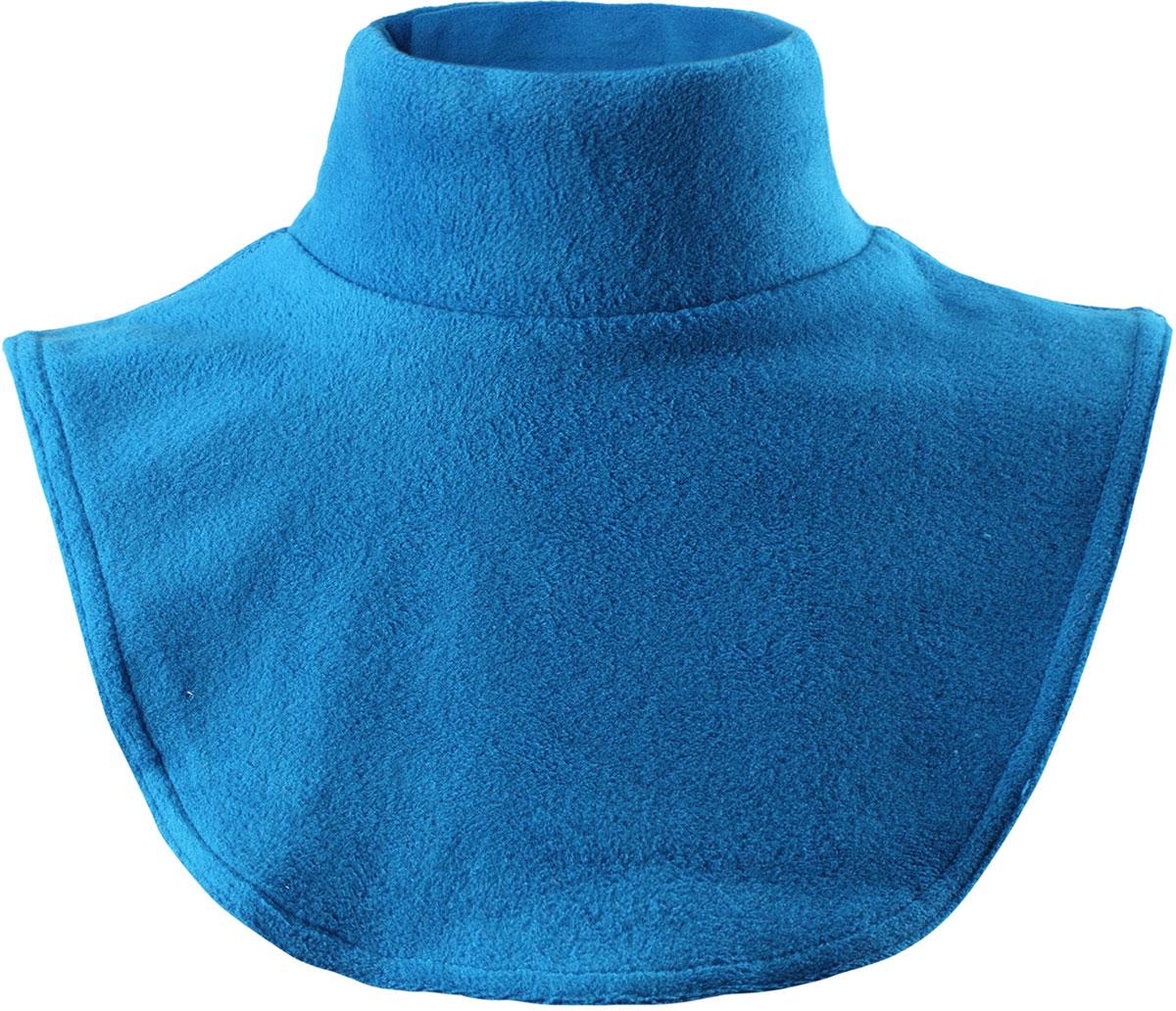 Манишка детская Lassie, цвет: синий. 7287246520. Размер 47287246520Манишка Lassie из флиса обеспечивает дополнительную защиту области шеи - в ней ребенку будет тепло во время веселых зимних прогулок. Благодаря удобной застежке на липучке изделие легко надевать и снимать и регулировать нужный размер. Идеально подходит для Облегченная модель без подкладки.