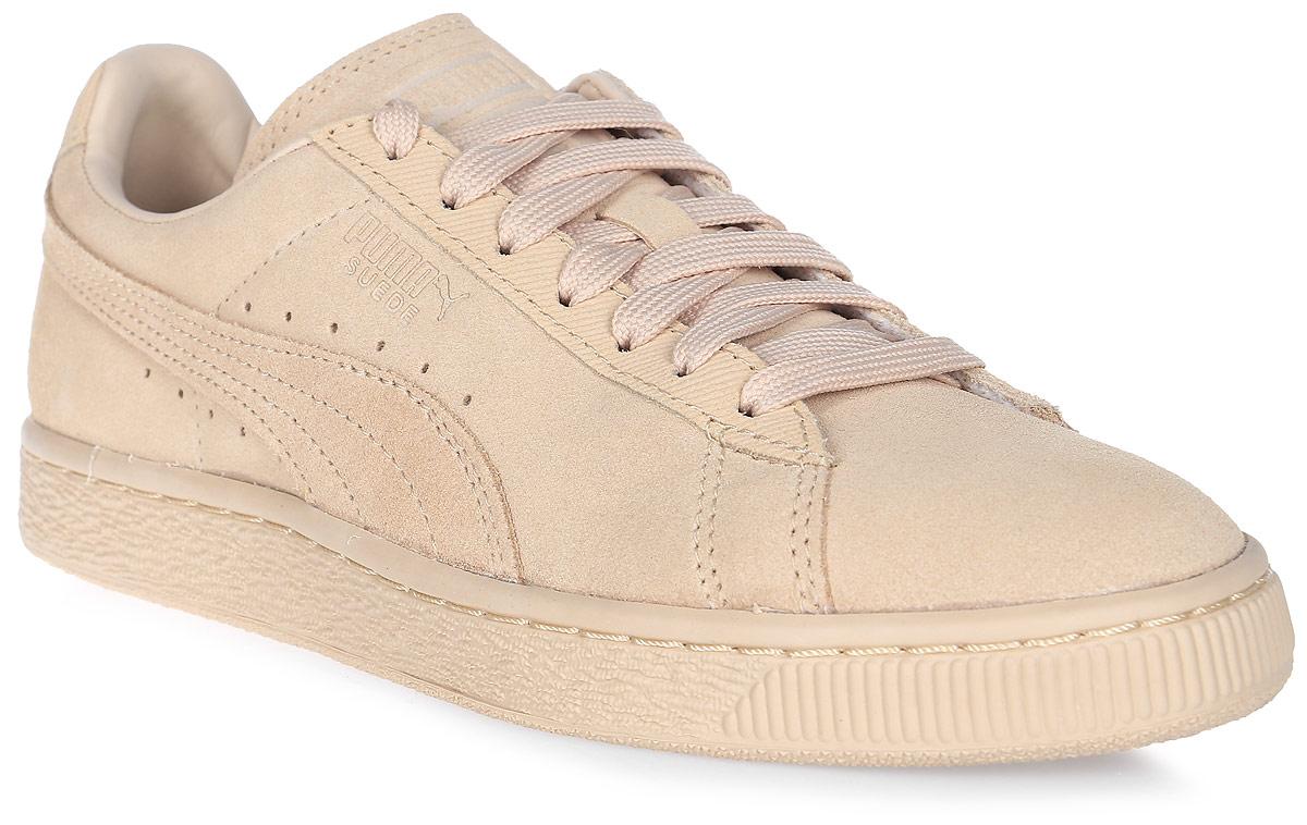 Кеды женские Puma Suede Classic Tonal, цвет: персиковый. 36259502. Размер 4 (36)36259502Без сомнения, самая известная и популярная модель от Puma произвела в своё время настоящую революцию в мире спортивной обуви, прославив этот немецкий бренд и став неотъемлемым аксессуаром молодежи, исповедующей активный стиль жизни, в любой стране мира. Так продолжается с далеких 80-х и до наших дней. Культовая модель Suede представлена в этом сезоне в изысканном монохромном варианте, причем каждое из цветовых решений оживит ваш летний гардероб.