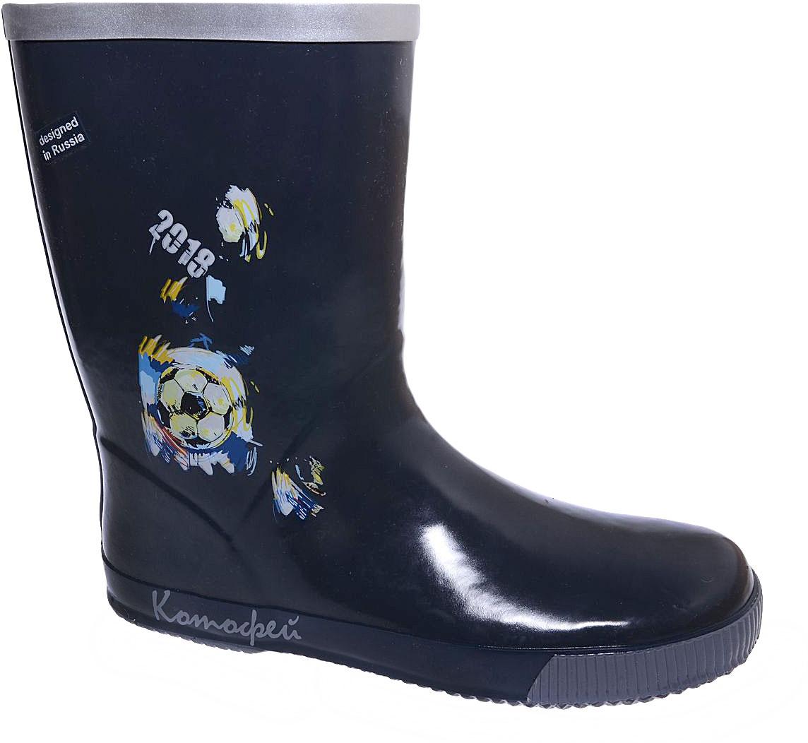 Сапоги резиновые для мальчика Котофей, цвет: темно-серый. 766047-11. Размер 36766047-11Резиновые сапоги для мальчика от Котофей - идеальная обувь в дождливую погоду. Сапоги выполнены из качественной резины. Подкладка и стелька выполнены из текстильных материалов, которые обеспечивают полный комфорт при носке. Утолщенная подошва выполнена из ТЭП-материала с высокой устойчивостью к истиранию.