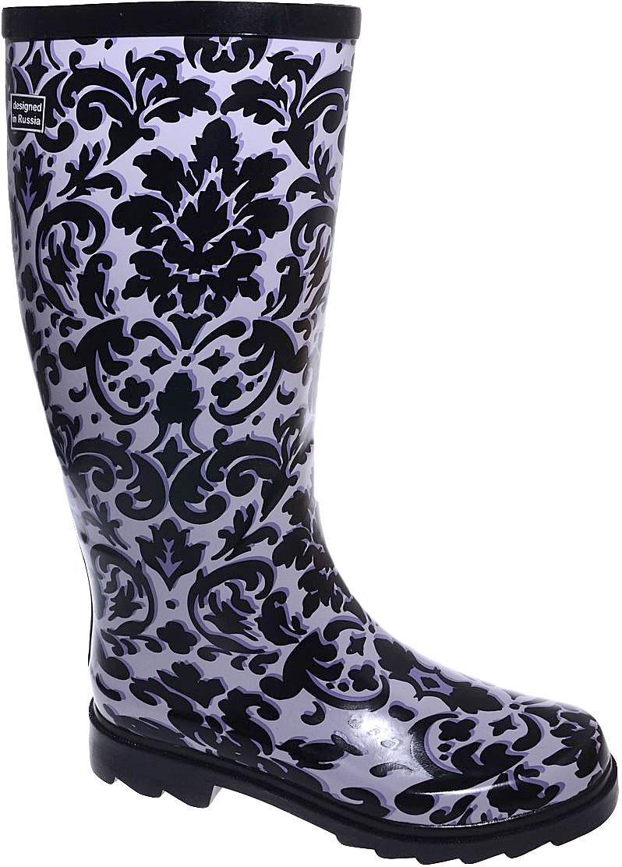 Сапоги резиновые для девочки Котофей, цвет: черный, серый. 766049-11. Размер 40766049-11Резиновые сапоги для девочки от Котофей - идеальная обувь в дождливую погоду. Сапоги выполнены из качественной резины. Подкладка и стелька выполнены из текстильных материалов, которые обеспечивают полный комфорт при носке. Утолщенная подошва выполнена из ТЭП-материала с высокой устойчивостью к истиранию.
