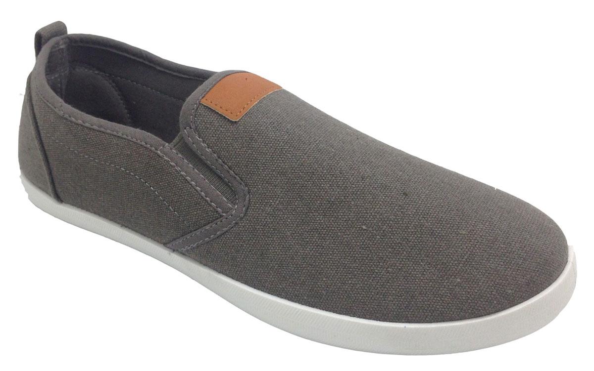 Кеды мужские In Step, цвет: серый. JT6164-3. Размер 46JT6164-3Мужские кеды от In Step изготовлены из высококачественного текстиля. По бокам расположены эластичные резинки, которые обеспечивают идеальную посадку модели на ноге. Внутренняя поверхность из текстиля не натирает. Стелька из материала ЭВА с текстильной поверхностью гарантирует комфорт при движении. Подошва дополнена рифлением.