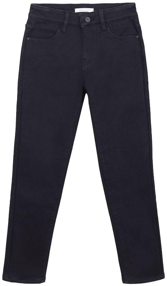 Брюки для мальчиков Vitacci, цвет: черный. 1171203-03. Размер 1401171203-03Брюки-джинсы утепленные на мальчика.