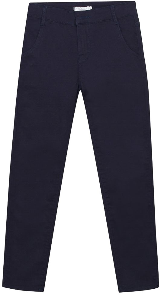 Брюки для мальчиков Vitacci, цвет: синий. 1171254-04. Размер 1401171254-04Брюки-джинсы утепленные на мальчика.