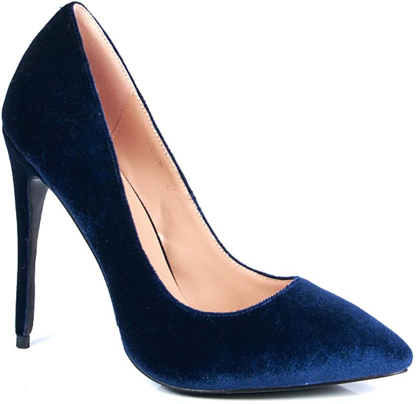 Туфли женские Vitacci, цвет: синий. 183423. Размер 40183423Элегантные женские туфли-лодочки от Vitacci выполнены из текстиля. Внутренняя поверхность и стелька изготовлены из натуральной кожи, а подошва - из прочного термополиуретана. Модель имеет заостренный мысок и устойчивый каблук-шпильку.