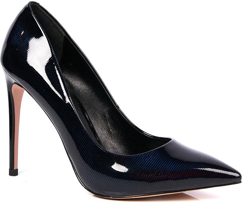 Туфли женские Vitacci, цвет: синий. 49351. Размер 4049351Элегантные женские туфли-лодочки от Vitacci выполнены из натуральной лакированной кожи. Внутренняя поверхность и стелька изготовлены из натуральной кожи, а подошва - из прочного термополиуретана. Модель имеет заостренный мысок и устойчивый каблук-шпильку.