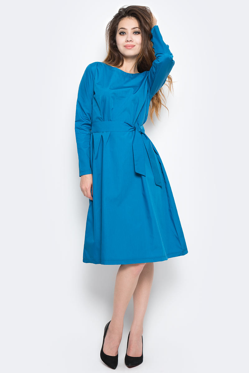 Платье Kawaii Factory №5, цвет: бирюзовый. KW177-000027. Размер S (40/42)KW177-000027
